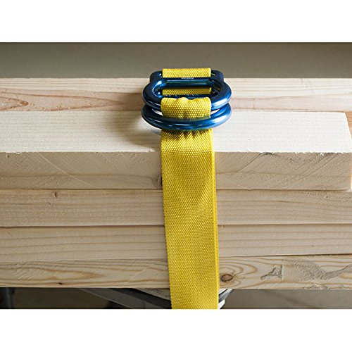 """Rock N Rescue RNR UTILITY DOUBLE """"D-RING"""" CINCH TIE DOWN STRAPS (4) by Rock N Rescue (Image #3)"""
