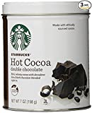 Kitchen & Housewares : Starbucks 7oz Hot Cocoa Tins Double Chocolate, Pack of 3