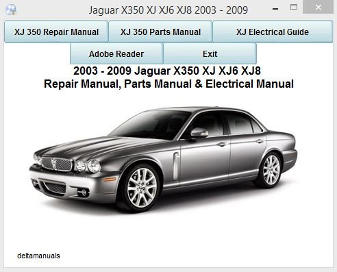 jaguar xj8 x350 workshop and parts manual 2003 2009 amazon co uk rh amazon co uk owner's manual jaguar xj jaguar x350 owner's manual