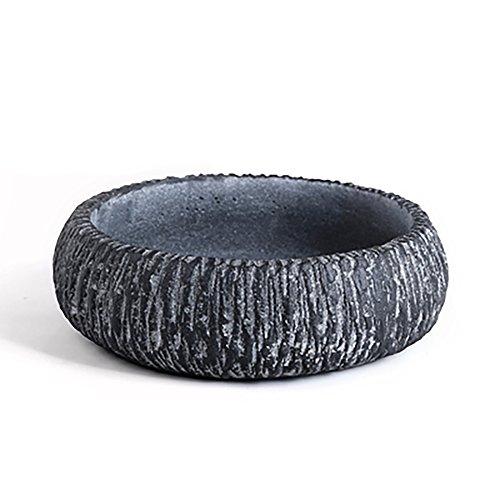 Concrete Round Planter - Ornerx 6