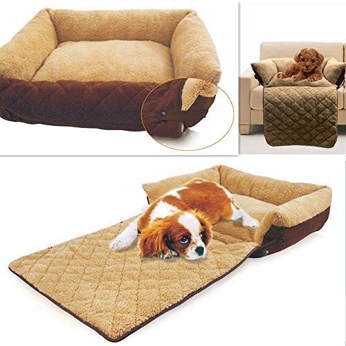 Natural Home(TM) Einzigartiges Luxus-Warm Hundebett Indoor Katzenbett Weiches Tierbett Nest (Blau)
