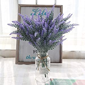 artificial lavender flowers
