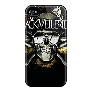 Excellent Hard Cell-phone Case For Iphone 5s With Customized Fashion Black Veil Brides Image JamieBratt