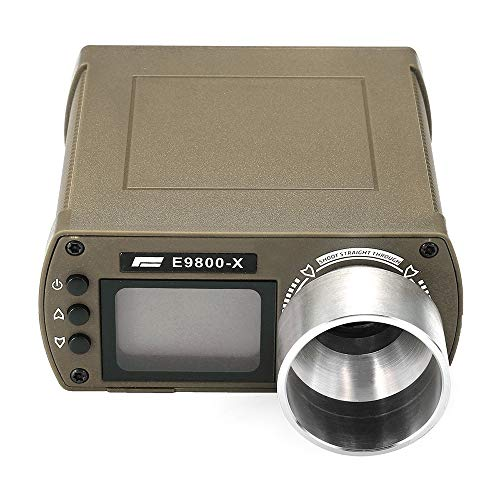 ActionUnion LCD Airsoft Gun High-Power Speed Tester Shooting Chronograph ABS for Airsoft Air BB Gun BBS Hunting (Tan)