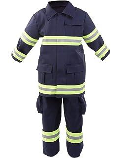 Amazon.com: Disfraz de bombero sin miedo para Halloween para ...
