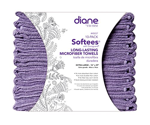 Softees Towels Duraguard Lilac 10pk