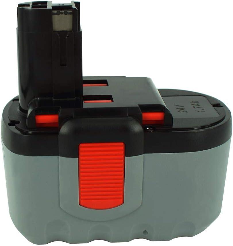 Power Smart® 1500mAh 24V NiMH batería para Bosch GLI 24V, GMC 24V, GML 24V, GML 24V de CD, GSB 24VE-2/N, GSR 24VE-2, GSR 24VE-2/N, 2607335562, BAT030, BAT240, BAT299