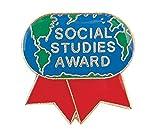 Pack of 100 Social Studies Award Lapel Pins