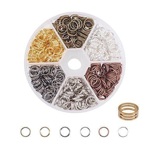 8mm split rings - 6