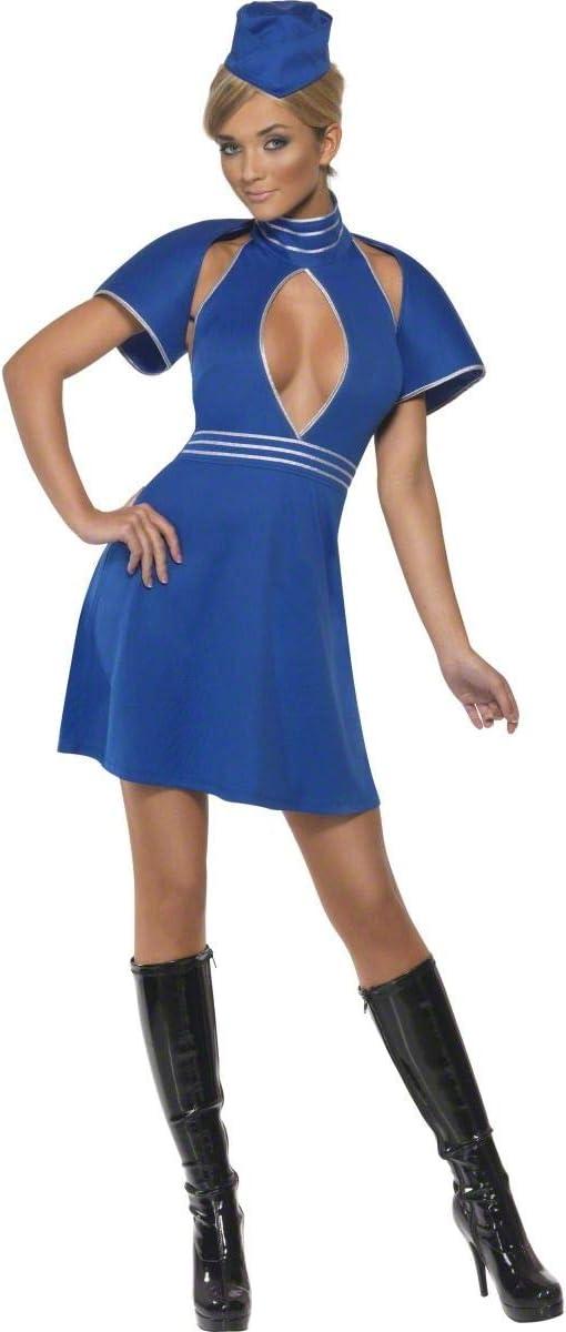 Mile High Hostess Costume (disfraz): Amazon.es: Juguetes y juegos