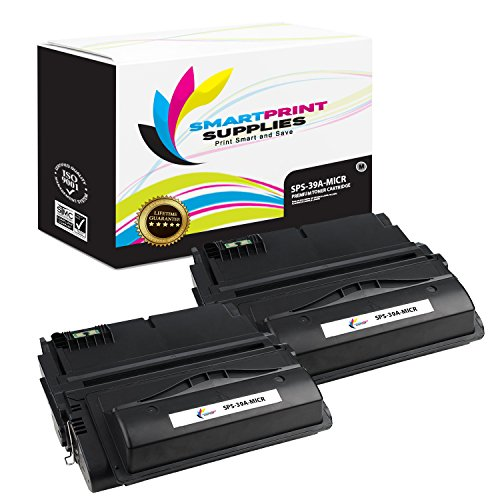 Smart Print Supplies Compatible 39A Q1339A MICR Black Toner Cartridge Replacement for HP Laserjet 4300dtns Printers (18,000 Pages) - 2 ()