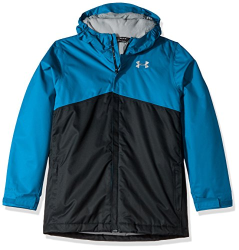 Under Armour Boys' Storm Freshies Jacket, Cruise Blue/Anthracite, Youth Medium by Under Armour