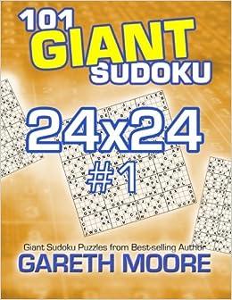 Book 101 Giant Sudoku 24x24 #1