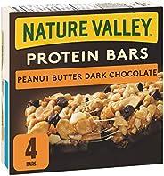 NATURE VALLEY Protein Bars Peanut Butter Dark Chocolate, 4-Count, 148 Gram
