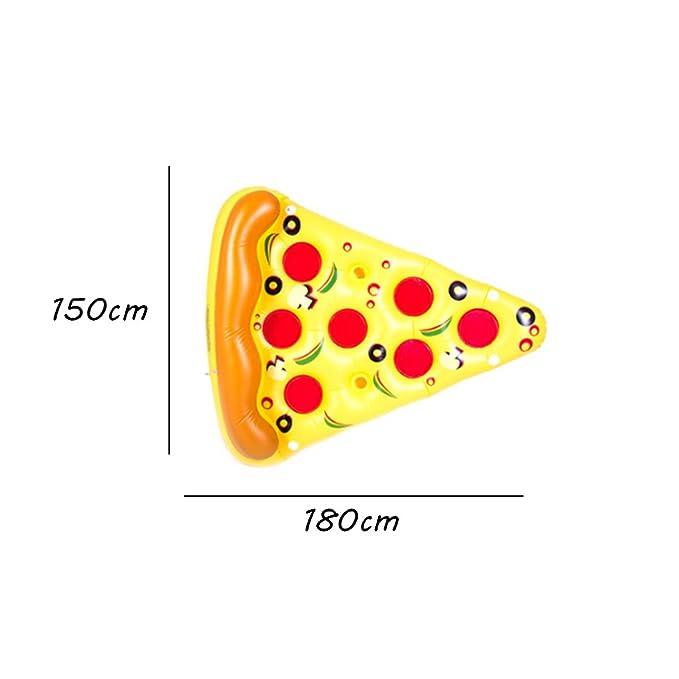 Bañera Hinchable Inflatable Swim Ring Water Piña Sandía Rainbow Pizza Cactus Berenjena Forma Flotante Fila Piscina Flotador Cojín Verano Esencial ...