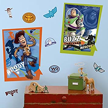RoomMates RMK1431GM Toy Story Buzz Glow in the Dark Giant Wall Decal