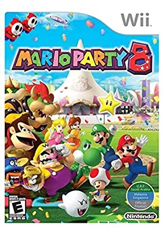 Wii Mario Party 8 World Edition Video Games