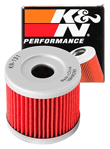 KN-131 K&N Performance Oil Filter; POWERSPORTS CARTRIDGE (Powersports Oil Filters):