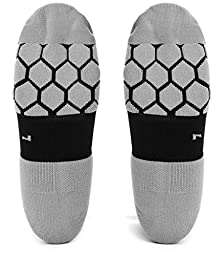 Graduated Compression Socks By Kunto Fitness – Reduce Leg Pain & the Appearance Of Varicose Veins – Increase Circulation – Great for Running, Travel, Hiking, & Fitness (Large)