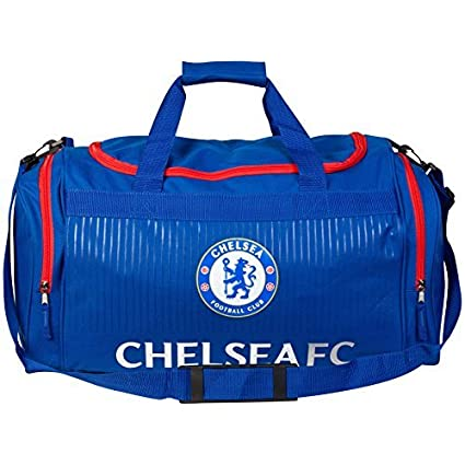 Chelsea F.C. Chelsea Holdall - Blue/Red Official Football Soccer Luggage Travel Gym Kit Bag