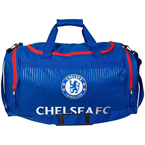 Chelsea Holdall - Blue/Red Official Football Soccer Luggage Travel Gym Kit Bag by Chelsea F.C. hqF51BT0mF