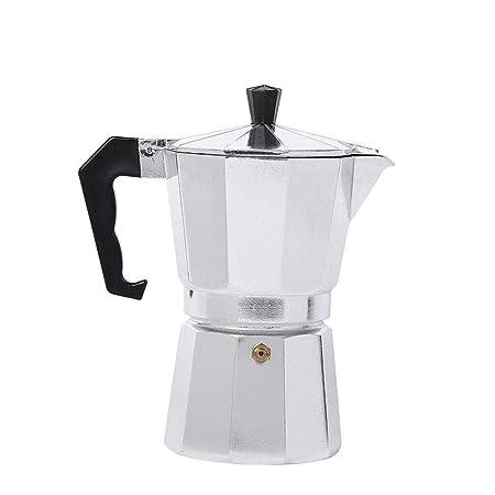 Moka Cafetera Cafetera Espresso Aluminio Cocina Durable para Casa ...