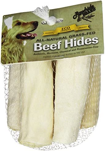 Rawhide Brand 4-Inch Natural Roll, 5 Per Pack, Mesh HDR