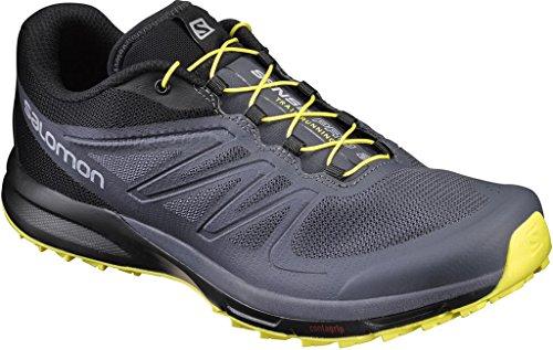Salomon Sense Pro 2, Zapatillas de Trail Running para Hombre Azul (Ombre Blue/Black/Blazing Yellow)