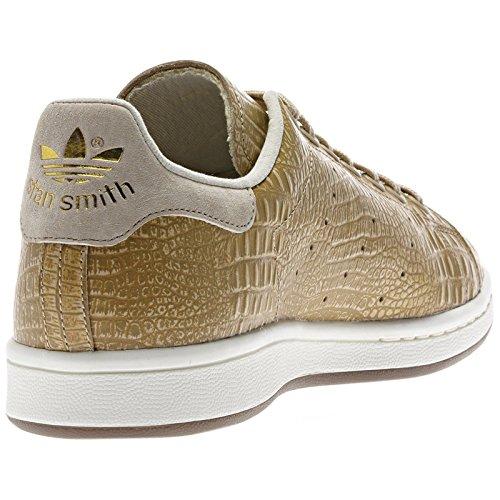 Adidas Originals Stan Smith D67657 St Pale Nudegold Crocodile Tennis Mens Shoes -3750