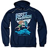 Scott Pilgrim Vs The World Comedy Movie Lovers Adult Pull-Over Hoodie