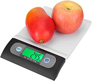 Food Scale, Multifunction LCD Digital Electronic Balance Scale Food Weight Scales for Kitchen, Multi-Unit Display - Gram, Pound and Ounce