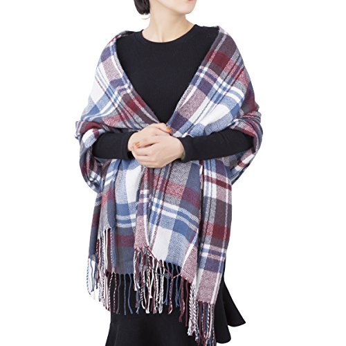 Very Warm Winter Plaid Scarf