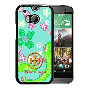 Unique HTC ONE M8 Case ,Hot Sale And Popular Designed Case With Tory Burch 42 Black HTC ONE M8 Cover Phone Case