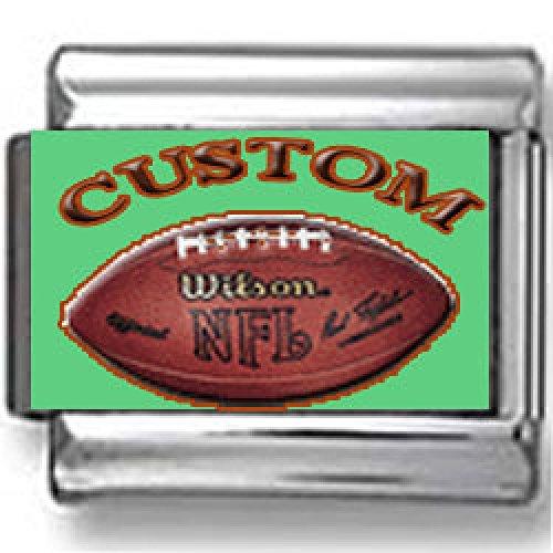Custom NFL Football Italian Charm ()