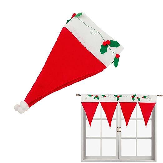 Delidge de Papá Noel fundas para sillas, diseño de gorro ...