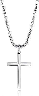 collier acier homme avec pendentif