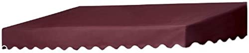 Coolaroo Traditional Door Canopy Replacement Cover, 8-Feet, Burgundy