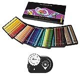 Prismacolor Colored Pencils Art Kit - Artist Premier Wooden Soft Core Pencils 150 ct. With Acurit Dial-a-Point Pencil Sharpener [151 pc. Set]