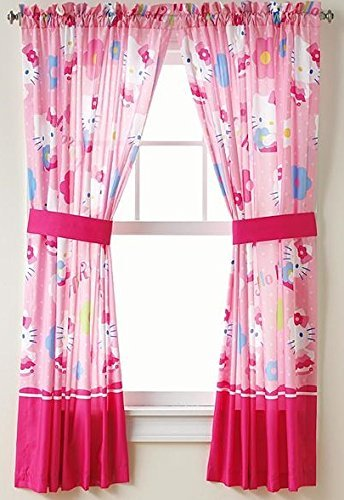 Hello Kitty Window Panels -