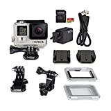 GoPro HD Hero4 Silver Action Camcorder with Dual Battery Charger and 16GB...