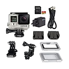 GoPro HERO4 Silver eliminates the need for an LCD BacPac. It is able to capture Full HD 1080p at up to 60 fps and - for even more detailed shots - capture 2.7K (2704 x 1520) at 30 fps and 4K (3840 x 2160) at 15 fps. There are a number of othe...