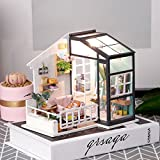 Rolife Mini DIY House Kit-Woodcraft Construction
