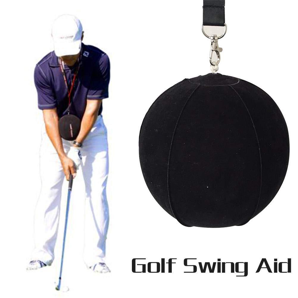Johlycao ゴルフインテリジェントゴルフトレーニングトレーナー インパクトボール トレーニング用品 補助姿勢矯正 筋力トレーニング   B07JNH9KG5