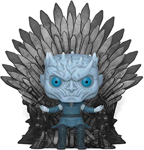 Funko- Pop Deluxe Game of S10 Night King Sitting on Throne Figura Coleccionable, Multicolor (37794)