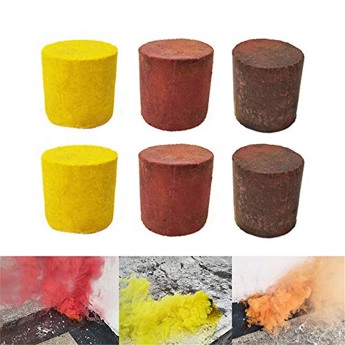 Euone  Halloween Clearance, 6PCS Colorful Smoke Cake Pills Photography Props Interactive Crazy Fun Toy for $<!--$1.68-->