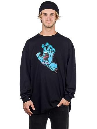 45d2d876 Amazon.com: Santa Cruz Screaming Hand Long Sleeve T-Shirt: Clothing