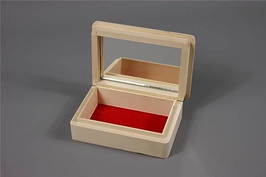 Decocraft PS16LU Caja de almacenamiento. de madera, incluye 1 ...