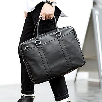 852114ea3c GUNAINDMX Sac à main pour homme Porte-Documents Business Paper Bag Sac À Main  Pour