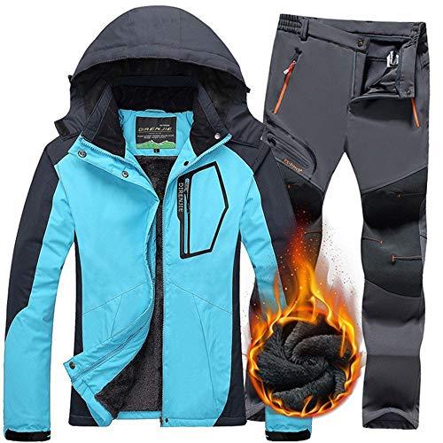 Montagne Snowboard Plein Pantalon Manteau Combinaison Femme De Femmes Imperméable Qzhe Thermique En Air Veste Neige Ski Costumes 8k0PwOXn
