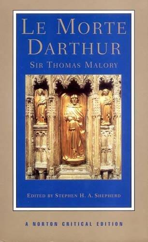 Book cover for Le Morte d'Arthur